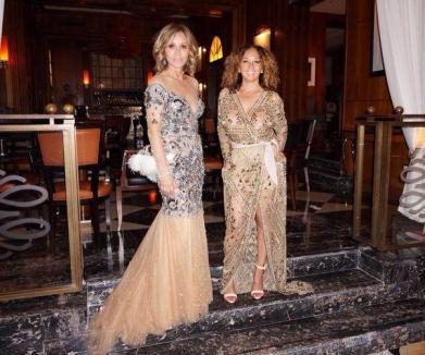 O româncă a participat la nunta lui Kim Kardashian şi Kanye West