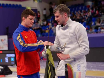 Încă un orădean, Andrei Timoce, s-a impus la Cupa României la spadă, de la Craiova