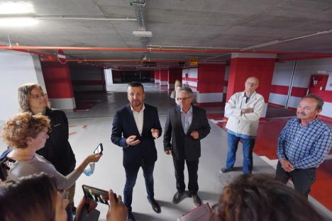ADP Oradea, detalii tehnice despre parcarea subterană de pe strada Independenței