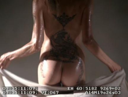 Fundul Angelinei Jolie, pe internet