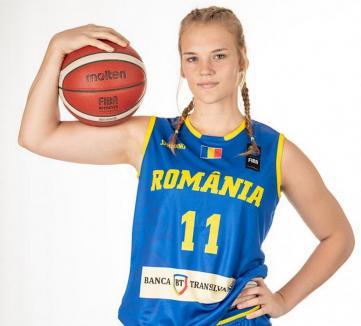 Orădeanca Anisia Croitoru, cea mai bună din lotul României la European Challenger U18