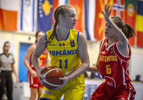 Anisia Croitoru, convocată din nou la lotul naţional U17 de baschet feminin