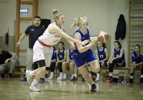 Orădeanca Anisia Croitoru, printre cele mai bune baschetbaliste ale 'Balkanic Next Star Cup'