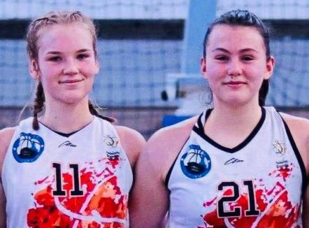 Două sportive de la BCU Oradea, Lorena Milaș și Anisia Croitoru, au fost convocate în loturile naționale de baschet U15 și U17
