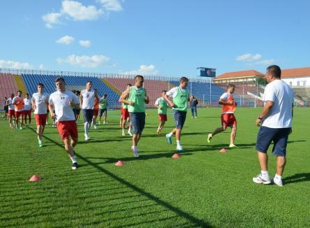 FC Bihor va juca cu Crişul Sântandrei în primele amicale ale verii