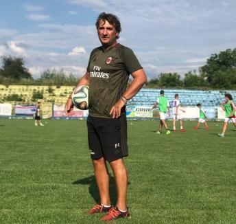 Fotbaliştii şi antrenorii de la LPS Bihorul Oradea au învăţat de la un fost tehnician al lui AC Milan