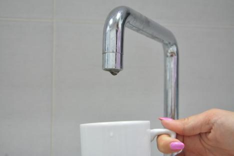 Compania de Apă Oradea: 4 străzi din municipiu rămân fără apă, timp de câteva ore