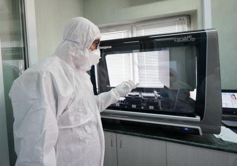 DSP Bihor a cumpărat un aparat RT-PCR, pentru testarea bihorenilor din zona Beiuş-Ştei