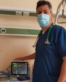 Spitalul Municipal din Oradea a primit aparatură pentru secţia ATI, donată de trei companii în campania #SolidaritateBihorCovid19
