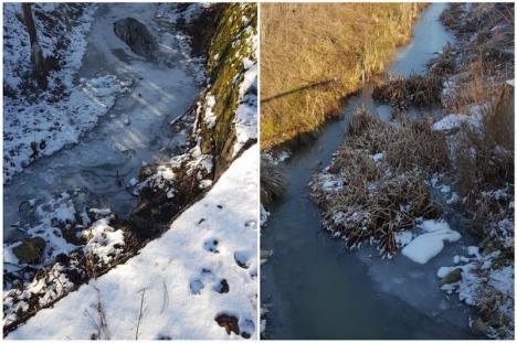 Starea apelor: Debite scăzute şi formaţiuni de gheaţă în bazinul Crişuri