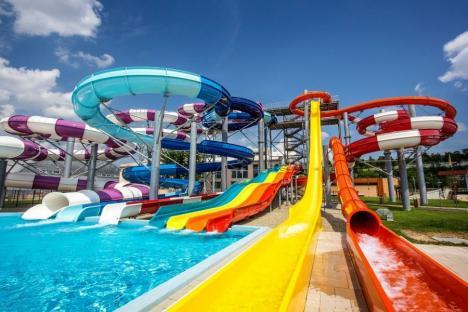 ADP Oradea: Aquaparkul Nymphaea se redeschide vineri. Se recomandă cumpărarea biletelor online