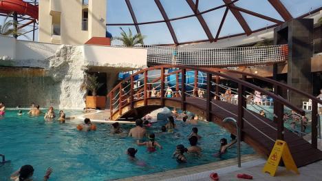 Aquaparkul Nymphaea, în perioada Sărbătorilor:10 zile cu casa închisă (FOTO)