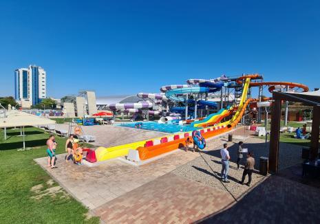 Un Aquapark prea mic pentru Oradea Mare