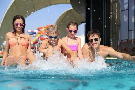 Final de sezon estival la Aquapark-ul Nymphaea din Oradea: Din octombrie va fi deschis doar în interior (FOTO)
