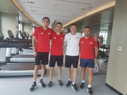 Orădeanul Octavian Şovre va oficia la semifinala Brazilia - Anglia de la Campionatul Mondial de fotbal de juniori U17