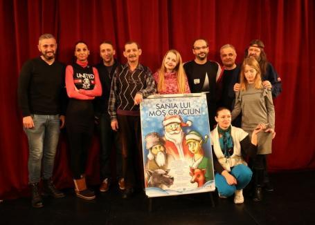 'Sania Lui Moş Crăciun', premieră de sezon la Teatrul Arcadia