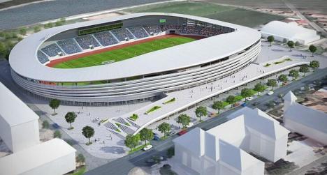 Viitorul stadion din Oradea ar putea costa 45,69 milioane de euro (FOTO)