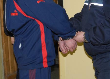 Abia eliberat din închisoare, un bărbat din Bihor a dat iama prin casele din comuna Sâniob