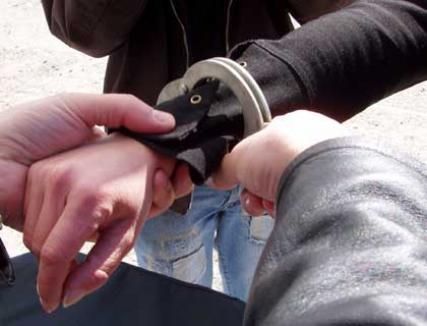 Fiul unei ex-poliţiste, arestat pentru o şpagă de 50.000 de euro