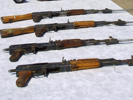 Armele de la Ciorogârla au fost găsite