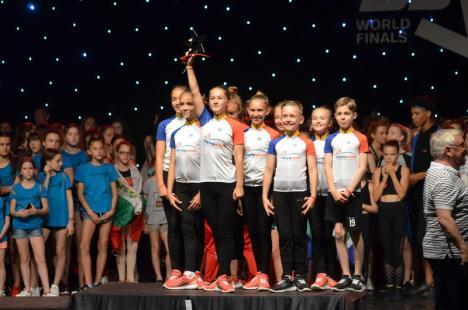 Două titluri de campioni mondiali pentru copiii de la Ars Nova (FOTO)