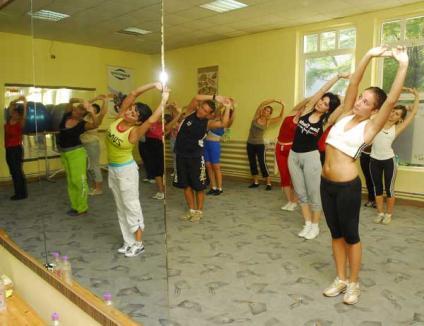 Orădenii pot încerca din nou stiluri de aerobic, gratuit