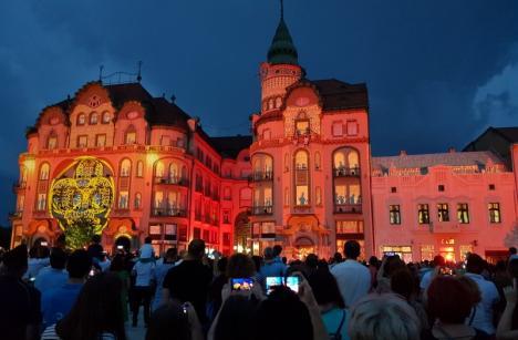 Sărbătoarea Art Nouveau din Oradea s-a încheiat mai repede din cauza furtunii