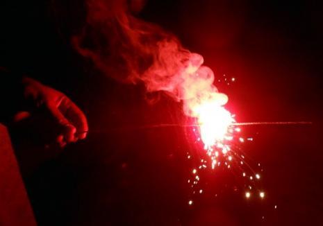 Revelion la spital: Mai mulţi bihoreni au ajuns la Urgenţe cu răni cauzate de petarde şi de artificii. Două fetiţe s-au rănit mai serios