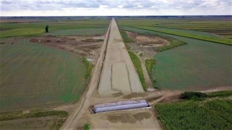 Cum arată ciotul de autostradă din Bihor: 'Lucrările ar putea fi gata în vară' (FOTO / VIDEO)