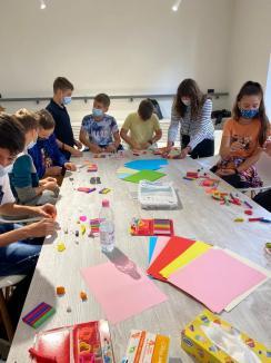 Eveniment inedit, sub egida TIFF Oradea: Atelier de animaţie stop-motion, pentru elevi, la Centrul The Spot (FOTO)