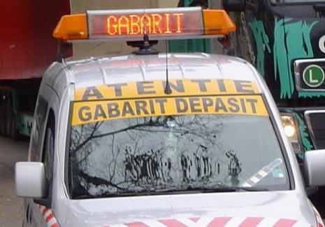 Atenţie, gabarit depăşit! Un nou transport special pe DN1, în Bihor