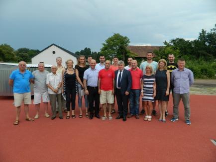 Universitatea din Oradea: Virgil Preda a inaugurat o zonă modernă de pregătire pentru probele de sărituri