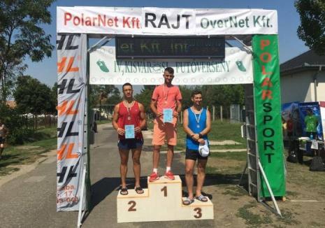 Doi orădeni, învingători în concursul atletic de la Mezobereny, din Ungaria!