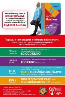 Surpriză pentru orădeni: Auchan România a lansat programul de fidelitate MyCLUB Auchan