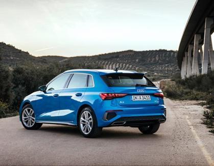 Noul Audi A3 Sportback, disponibil la vânzare începând de la 23.500 Euro (nu include TVA)prin D&C Oradea