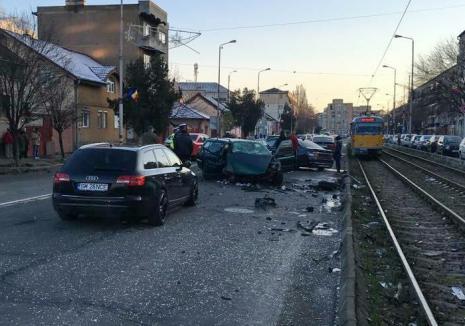Primele concluzii în accidentul din Cantemir: Şoferul unui Audi a schimbat banda fără să se asigure, iar șoferul din BMW era băut (VIDEO)