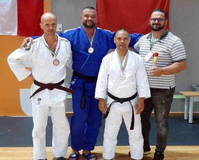 Aurel Gavriş, aur la Open-ul Ungariei de judo master