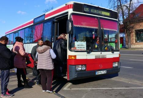 În Bihor, cursele județene se răresc: autobuzele vor circula după programul de weekend