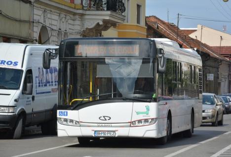 Cum vor circula tramvaiele şi autobuzele OTL în perioada Paştelui