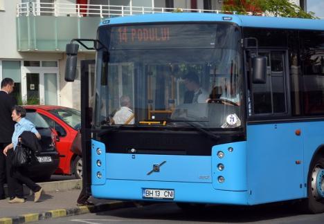 Traseele autobuzelor 14 și 30, deviate din cauza lucrărilor la noul pod peste Peța