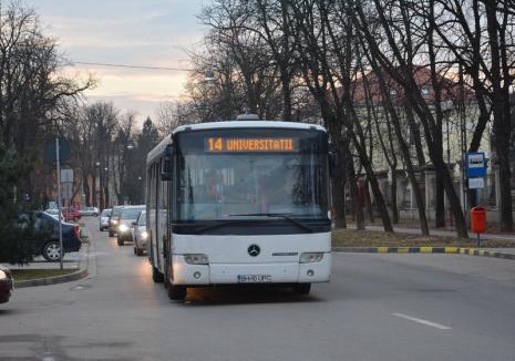 OTL anunță că s-a reluat traseul normal al autobuzelor care circulă pe linia 14