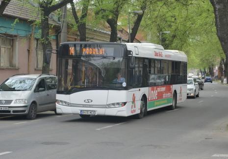 Traseul liniei 14 de autobuz va fi deviat o lună!