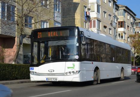 Traseele liniilor de autobuz 20 şi 21R vor fi deviate între 15 şi 29 martie