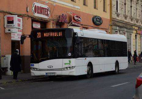OTL anunţă devierea liniilor de autobuz 10, 12 şi 20