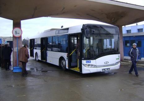 Se înfiinţează o nouă linie de autobuz în Oradea