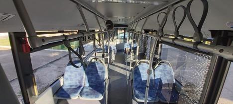 Primul autobuz hibrid cumpărat de OTL a ajuns la Oradea (FOTO)