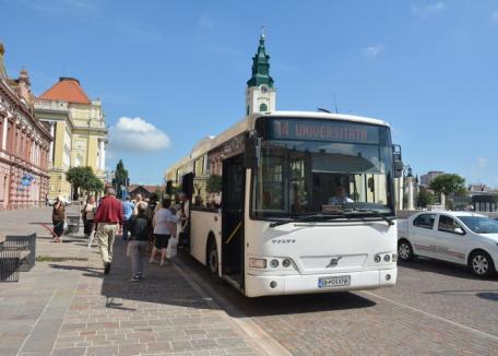 Cum vor circula tramvaiele şi autobuzele din Oradea după începerea anului şcolar