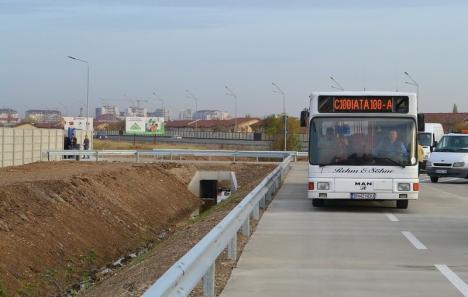 ADP Oradea: cursele OTL spre Piața 100 vor fi suspendate din cauza lucrărilor la pasajul suprateran