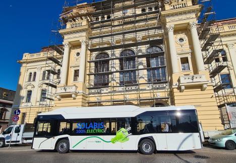 Viitorul transportului în Oradea: În zona centrală, ar putea avea acces doar vehicule electrice şi alimentate cu hidrogen (FOTO / VIDEO)