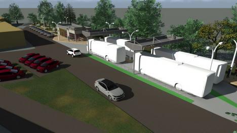 Liber la lucrări: CJ Bihor a dat ordinul pentru începerea construirii autogării din Beiuș (FOTO)